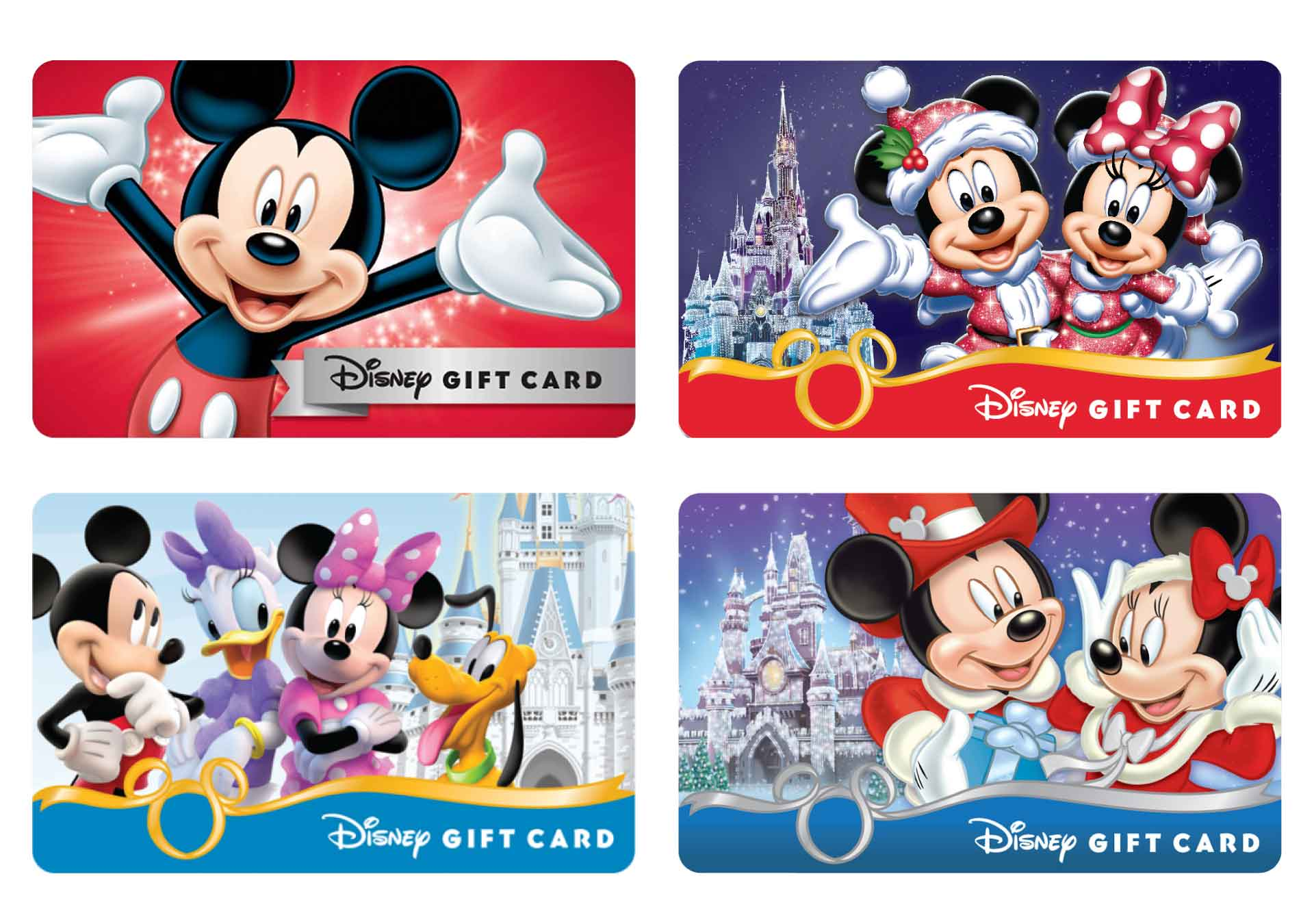 Disney's Gift Cards coleccionables